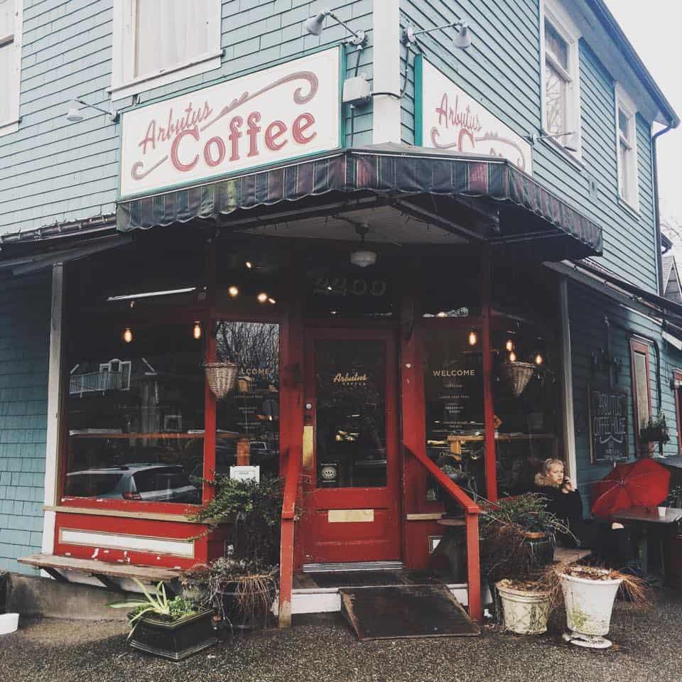Vancouver Cafe Crawl : Arbutus Coffee