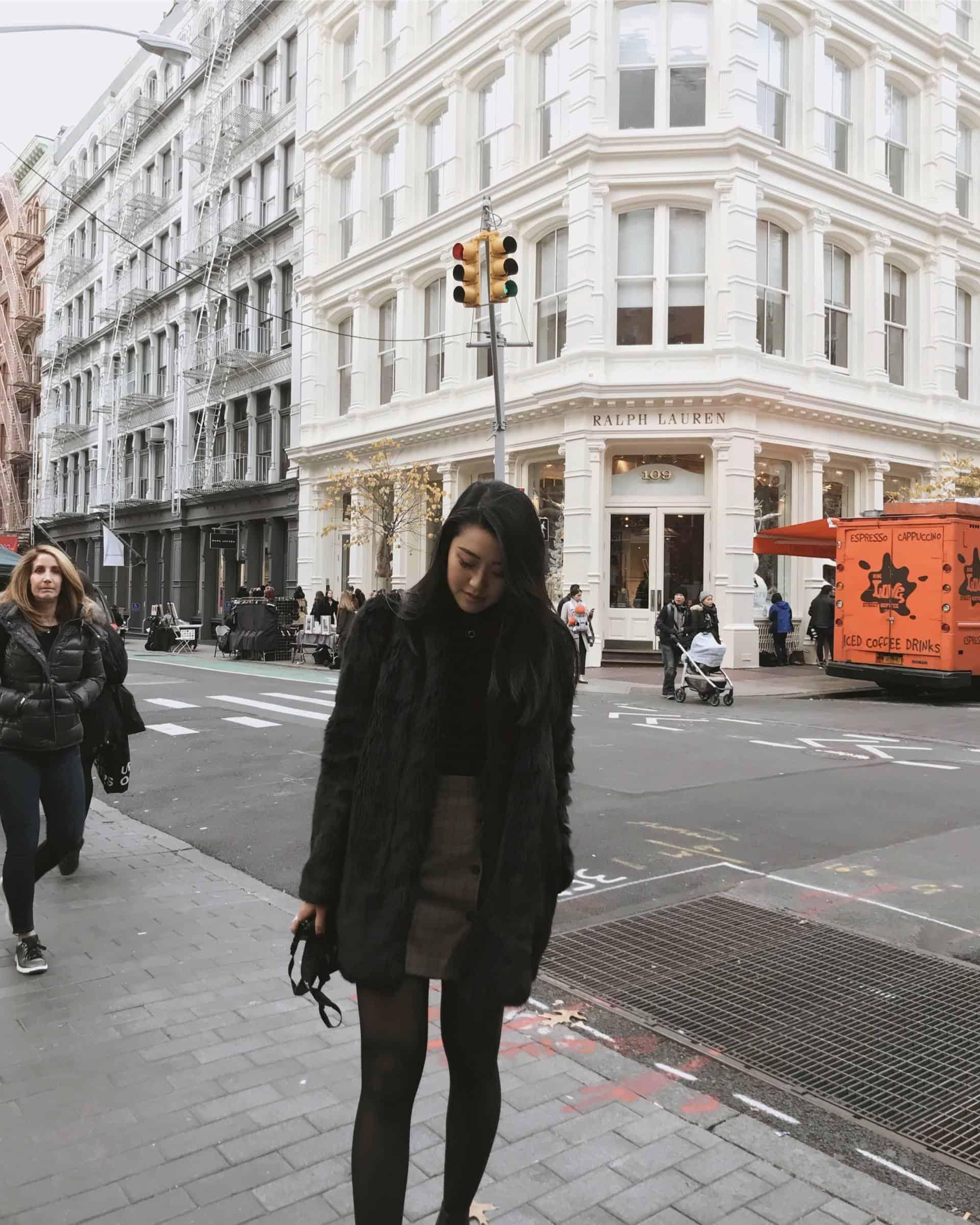 Shopping in Soho, New York