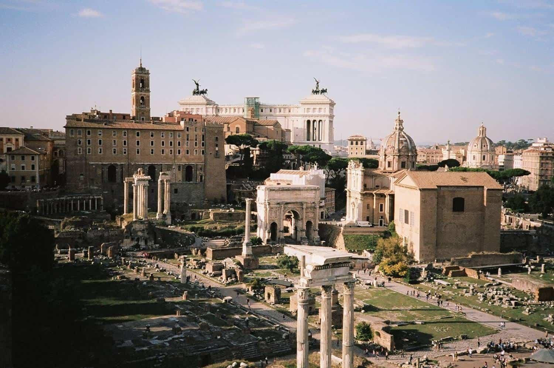 The Roman Forum on Film
