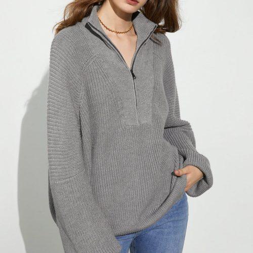 J.ING Grey Sweater